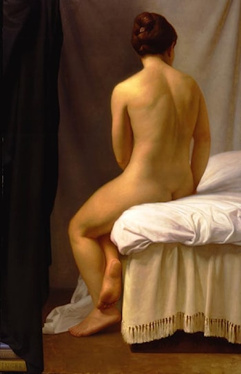Homage To Ingres: La Baigneuse Valpinson by Patricia Watwood