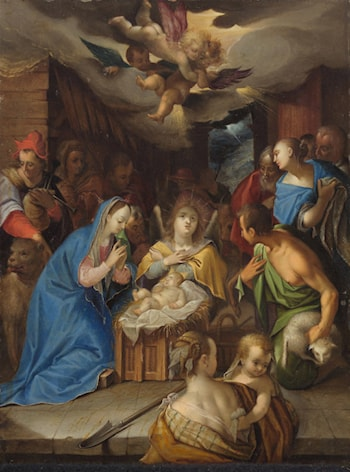 Adoration of the Magi by Hans von Aachen