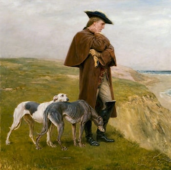 An Exile of the '45 by Briton Riviere