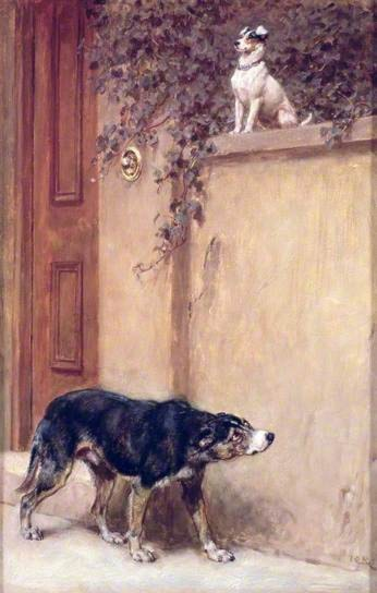 Pride of Place by Briton Riviere
