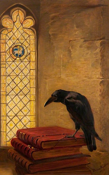 A Saint, from the 'Jackdaw of Rheims' by Briton Riviere