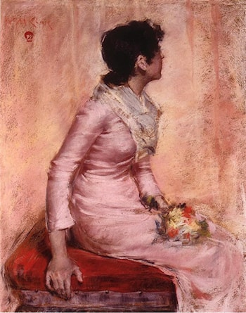 Surprise! by William Merritt Chase