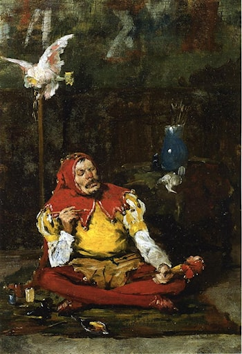 The King's Jester by William Merritt Chase