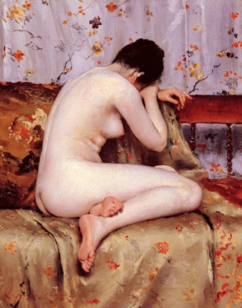 Modern Magdalen by William Merritt Chase