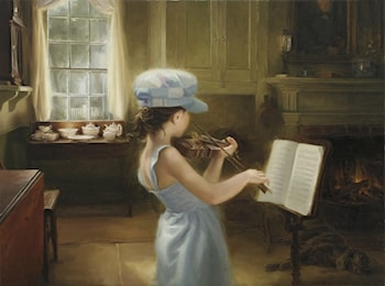 The Violinist by Thomas Reis