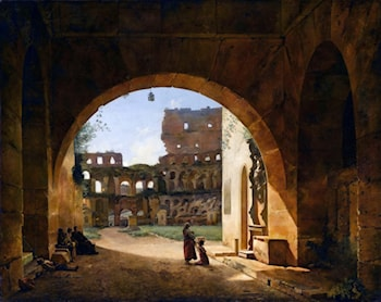 Interior View of the Colosseum in Rome by Francois-Marius Granet