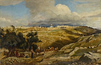 A View of Jerusalem by Edwin Lord Weeks