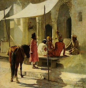 An Indian Messenger by Edwin Lord Weeks