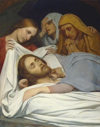 The Holy Women at the Sepulchre by Ary Scheffer