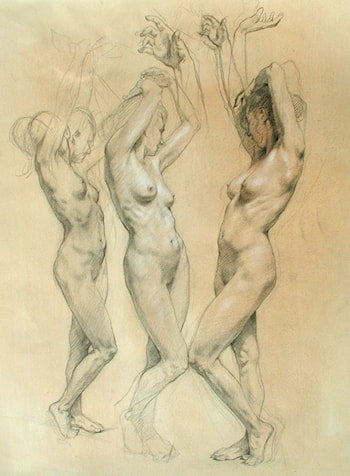 Three Graces by Robert Liberace