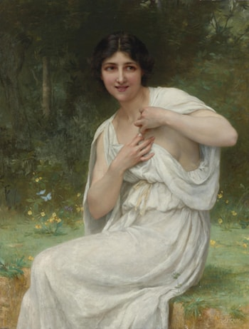 Preparing for the Bath by Guillaume Seignac