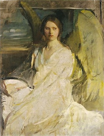 Angel by Abbott Handerson Thayer