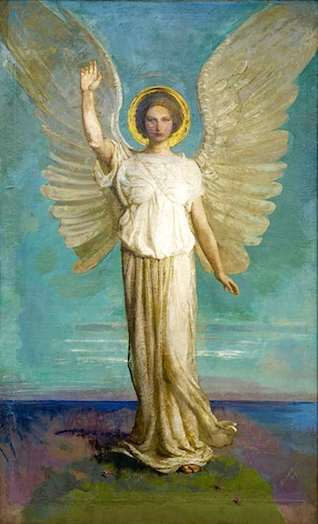 Angel of the Dawn by Abbott Handerson Thayer