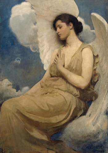 Winged Figure by Abbott Handerson Thayer