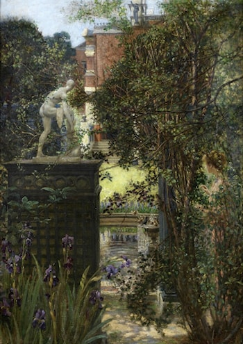 The Garden at Alma-Tadema's House by Edith Corbet