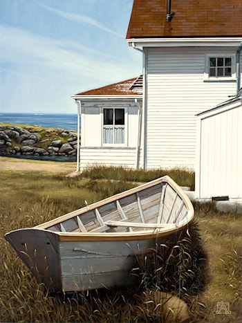 Summer Monhegan by George Angelini