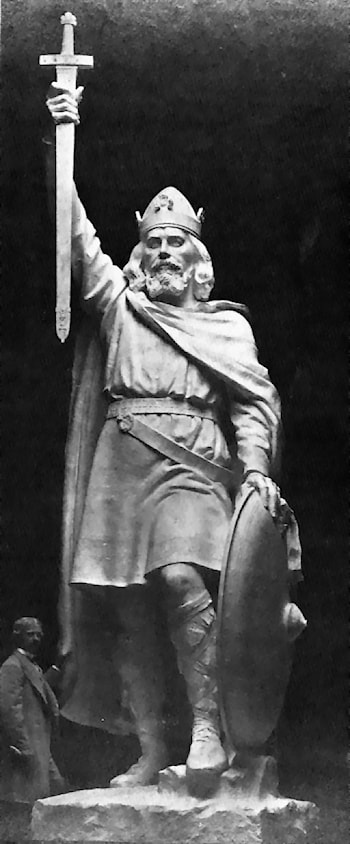 Alfred the Great by William Hamo Thornycroft