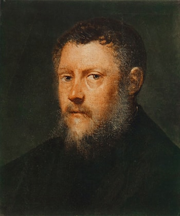 Portrait of a Man (fragment) by Jacopo Robusti Tintoretto