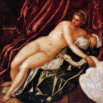 Leda and the Swan by Jacopo Robusti Tintoretto