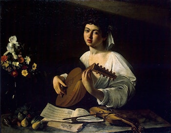 Lute Player by Caravaggio