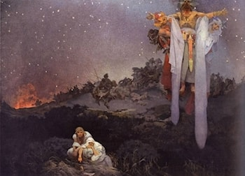 The Slav Epic: No.1: The Slavs in Their Original Homeland by Alphonse Maria Mucha
