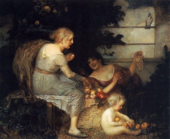 An Allegory of Plenty by Eduard Veith