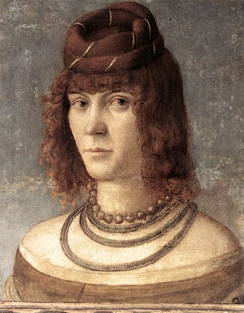Portrait of a Woman by Vittore Carpaccio