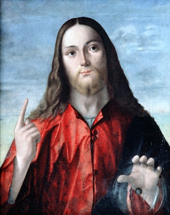 Salvator Mundi by Vittore Carpaccio