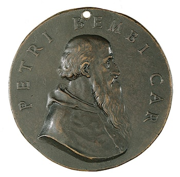 Portrait of Cardinal Pietro Bembo (obverse of a coin) by Benvenuto Cellini