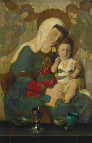 Madonna and Child by Harry Willson Watrous
