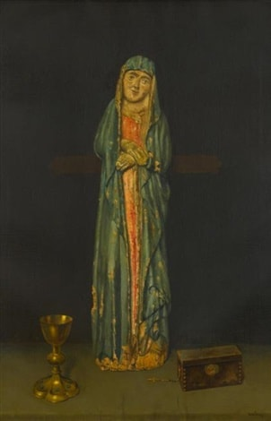 Madonna and Chalice by Harry Willson Watrous