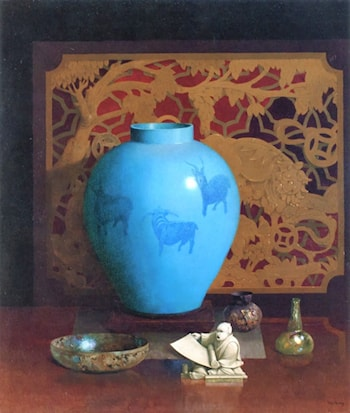 The Blue Goats by Harry Willson Watrous