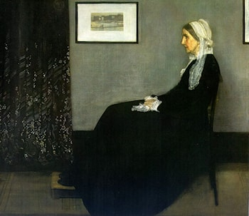 Arrangement in Grey and Black: Portrait of the Painter's Mother by James Abbott McNeill Whistler