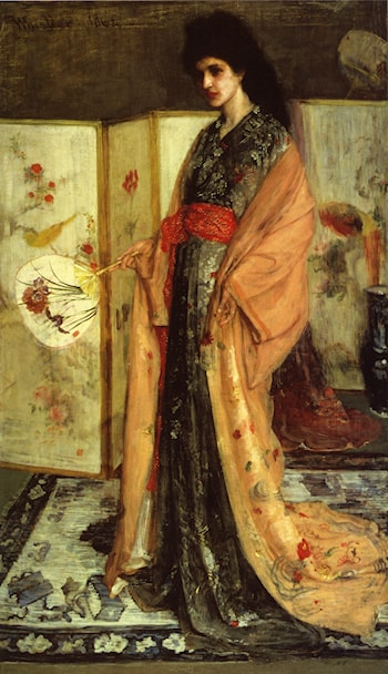 La Princesse duPays de la Porcelaine by James Abbott McNeill Whistler