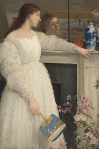 Symphony in White, No. 2: The Little White Girl by James Abbott McNeill Whistler