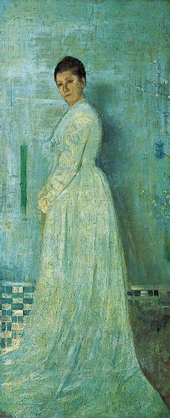 Harmony in White and Blue by James Abbott McNeill Whistler