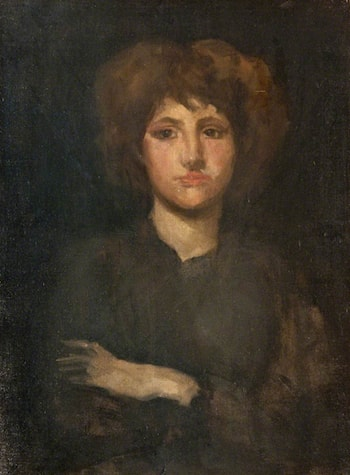 Portrait Study of Lily Pettigrew by James Abbott McNeill Whistler