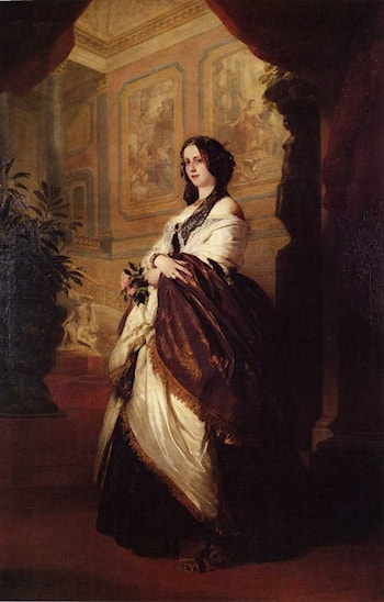 Harriet Howard, Duchess of Sutherland by Franz Xavier Winterhalter
