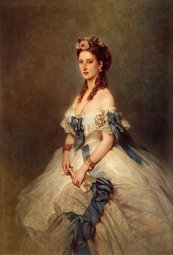 Alexandra, Princess of Wales by Franz Xavier Winterhalter