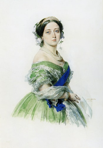 Queen Victoria by Franz Xavier Winterhalter