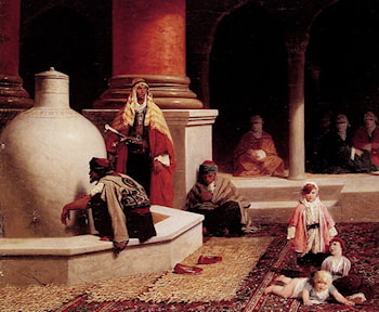 In the Harem by Adolphe Yvon