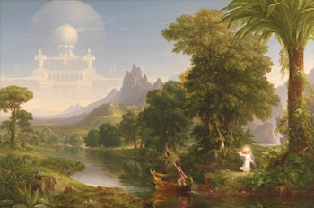 The Voyage of Life: Youth by Thomas Cole
