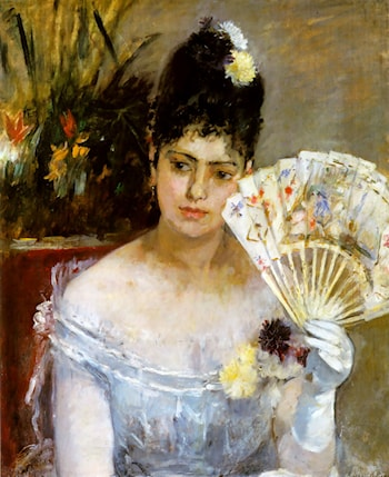 At the Ball by Berthe Morisot