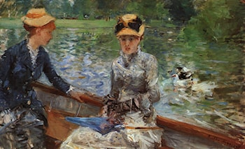A Summer's Day by Berthe Morisot