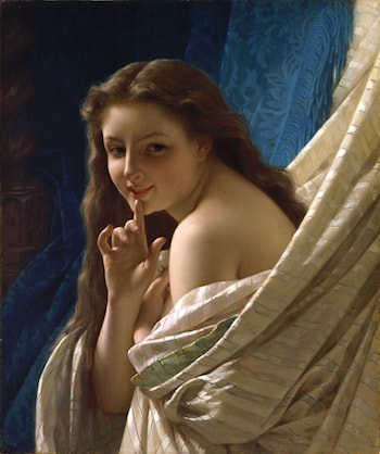 Portrait of a Young Woman by Pierre-Auguste Cot