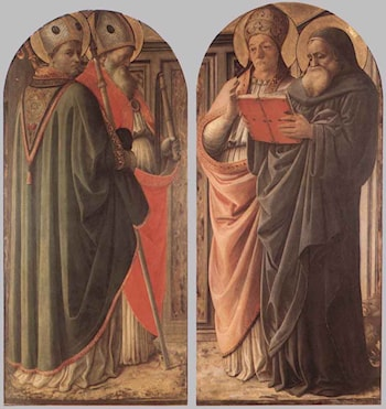 The Doctors of the Church by Fra Filippo Lippi