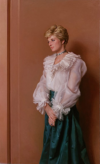 Princess Diana by Nelson Shanks