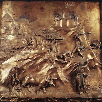 Cain and Abel: The Killing of Abel by Lorenzo Ghiberti