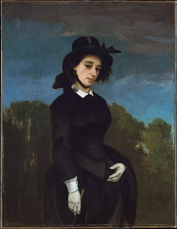 L'Amazone by Gustave Courbet
