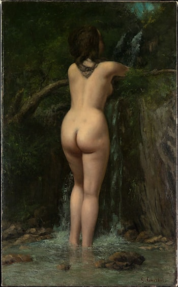 The Source by Gustave Courbet